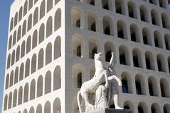 Italienischer Kultur-Palast, Rom, Italien Lizenzfreie Stockfotografie