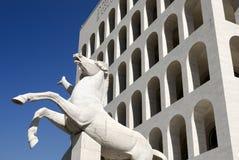 Italienischer Kultur-Palast, Rom, Italien Stockbilder