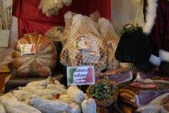 ITALIENISCHER LEBENSMITTEL-VERKÄUFER Lizenzfreie Stockfotos