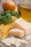 Italienischer Parmesankäseparmesankäse Stockfoto