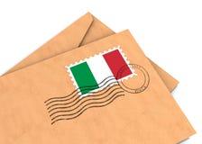 Italienischer Pfosten Stockfotografie
