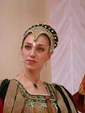 Italienischer Prinz Lorenzo Medichi Jr. Großer Fantasiekleiderball im Renaissancestil Stockfoto