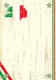 Italienischer Retro- Hintergrund Lizenzfreies Stockbild