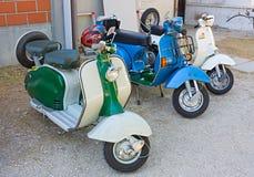 Italienischer Roller Stockbilder