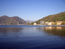 Italienischer See Stockbild