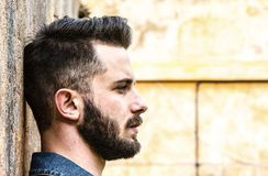 Italienischer sexy Mann Stockbilder