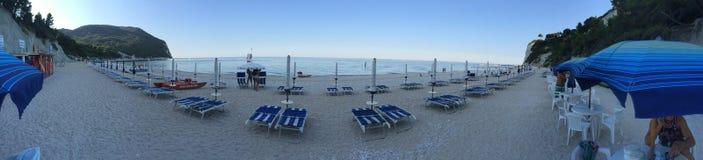Italienischer Sonnenuntergang Lizenzfreies Stockfoto