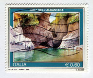 Italienischer Stempel Lizenzfreie Stockfotografie