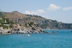 Italienischer Strand Stockfotos