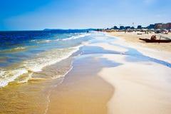 Italienischer Strand stockbild