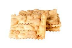 Italienischer traditioneller Nachtisch für den Karneval genannt Lizenzfreies Stockbild