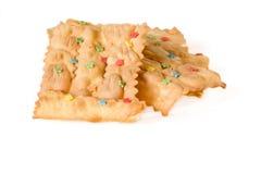 Italienischer traditioneller Nachtisch für den Karneval genannt Stockbild