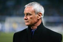 Italienischer Trainer Claudio Ranieri Stockfoto
