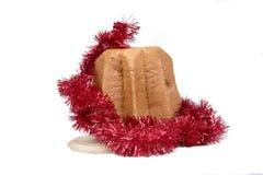 Italienischer Weihnachtskuchen Pandoro Lizenzfreie Stockfotos
