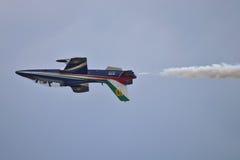 Italienisches aerobatic Team Lizenzfreies Stockfoto