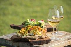 Italienisches aperitivo stockfotos