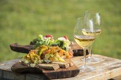 Italienisches aperitivo stockfoto