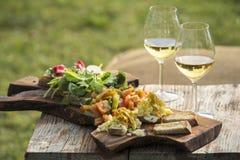Italienisches aperitivo lizenzfreie stockfotos