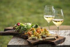Italienisches aperitivo stockbild