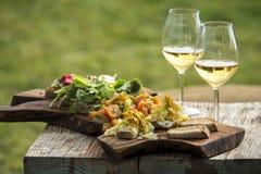 Italienisches aperitivo stockbilder