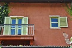 Italienisches Artgebäude. stockfotografie