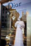 Italienisches Bekleidungsgeschäft Lizenzfreies Stockbild