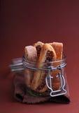 Italienisches biscotti stockfoto
