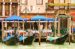 Italienisches Boots-Parken lizenzfreie stockfotografie