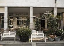 Italienisches caffe Stockfotografie