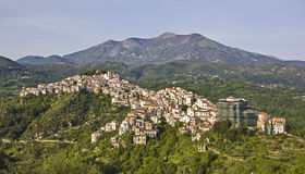 Italienisches Dorf Stockfotos
