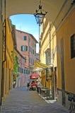 Italienisches Dorfleben Lizenzfreies Stockbild