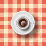 Italienisches Espresso Stockfotos