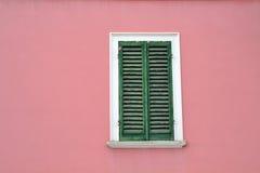 Italienisches Fenster Lizenzfreie Stockfotografie