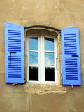 Italienisches Fenster Stockfotos