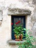 Italienisches Fenster Stockfoto