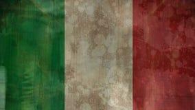 Italienisches Flaggen- und Mengenvideo