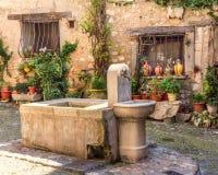 Italienisches fountian Stockfotografie