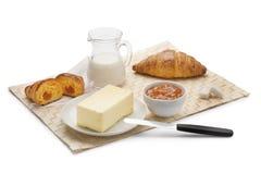Italienisches Frühstück Lizenzfreie Stockfotos