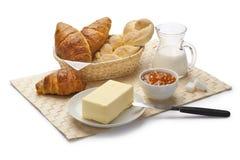 Italienisches Frühstück Lizenzfreies Stockbild