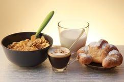 Italienisches Frühstück lizenzfreie stockfotografie