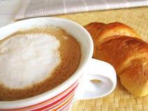 Italienisches Frühstück Stockbild