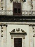 Italienisches Gebäude stockfoto