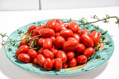 Italienisches gesundes Lebensmittel der Tomaten Lizenzfreies Stockfoto