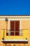 Italienisches Haus Stockfoto