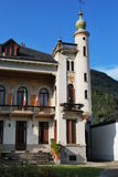 Italienisches Landhaus Lizenzfreies Stockfoto