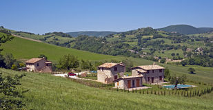 Italienisches Landhaus Stockbild