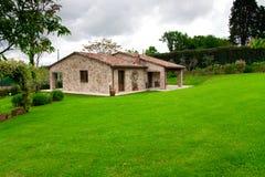 Italienisches Landlandhaus Toskana Stockfotografie