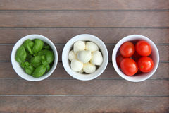 Italienisches Lebensmittel Lizenzfreie Stockfotos