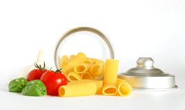 Italienisches maccheroni Lizenzfreies Stockfoto