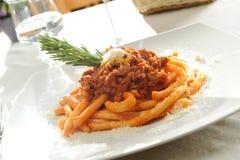 Italienisches maccheroni Stockbild